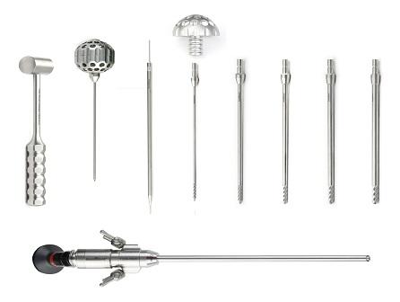 ست جراحی اندوسکوپیک ستون فقرات Transforaminal